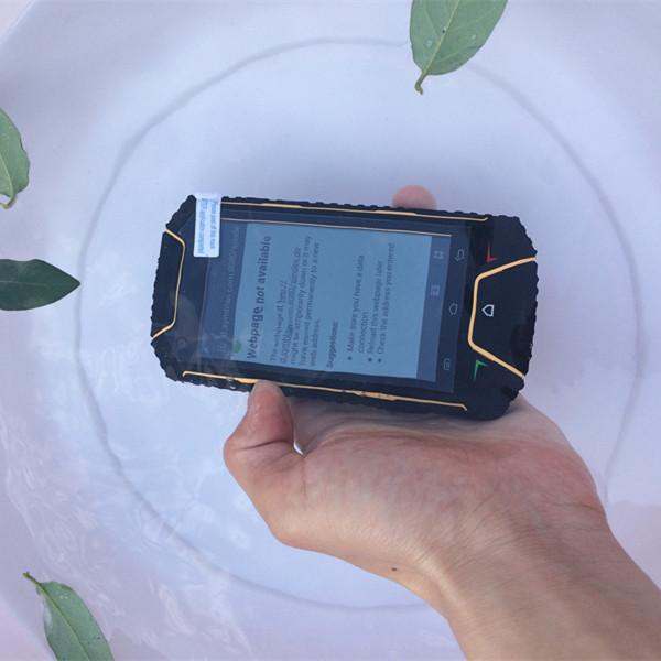 4.0'' Military Walkie Talkie Phone Wateroof V6 Android 4.0 Smart Phone MTK6572 Dual Core GSM WCDMA Dual Sim Dual Camera Phone(China (Mainland))