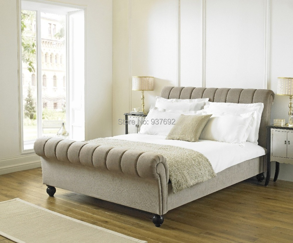 Fb1512 upholstered bed tufted look for headboard and for Different headboards