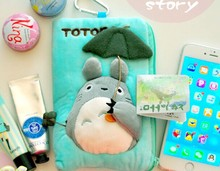 Kawaii NEW My Neigbor TOTORO 18*12CM Coin Purse Wallet Case Storage & Keys BAG Holder Wallet Pouch Women Handbag Phone Pouch(China (Mainland))