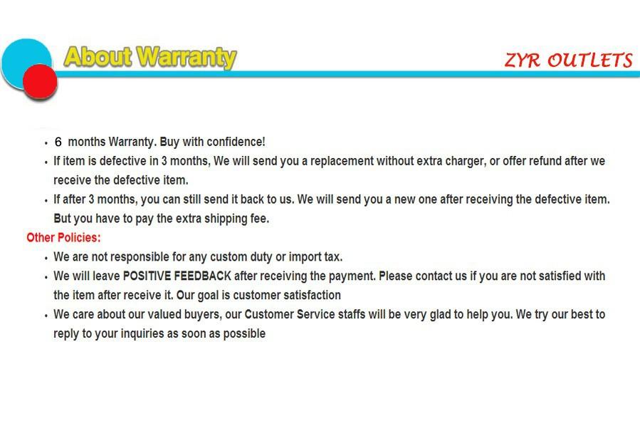 About Warranty 2