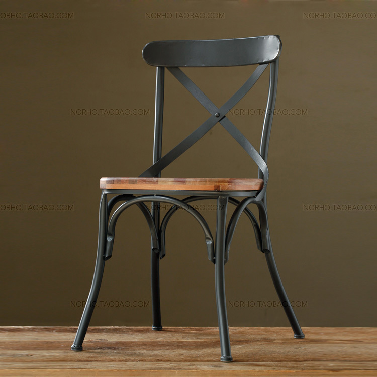 American country to do the old retro bar tables and chairs , wrought iron antique parlor casual cafe bar chair dining chair(China (Mainland))