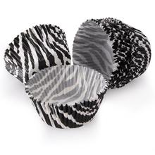 Zebra Mini Paper Baking Cups Cupcake Cake Cup Muffin Case Wedding Party 5 - Best Choice Life store