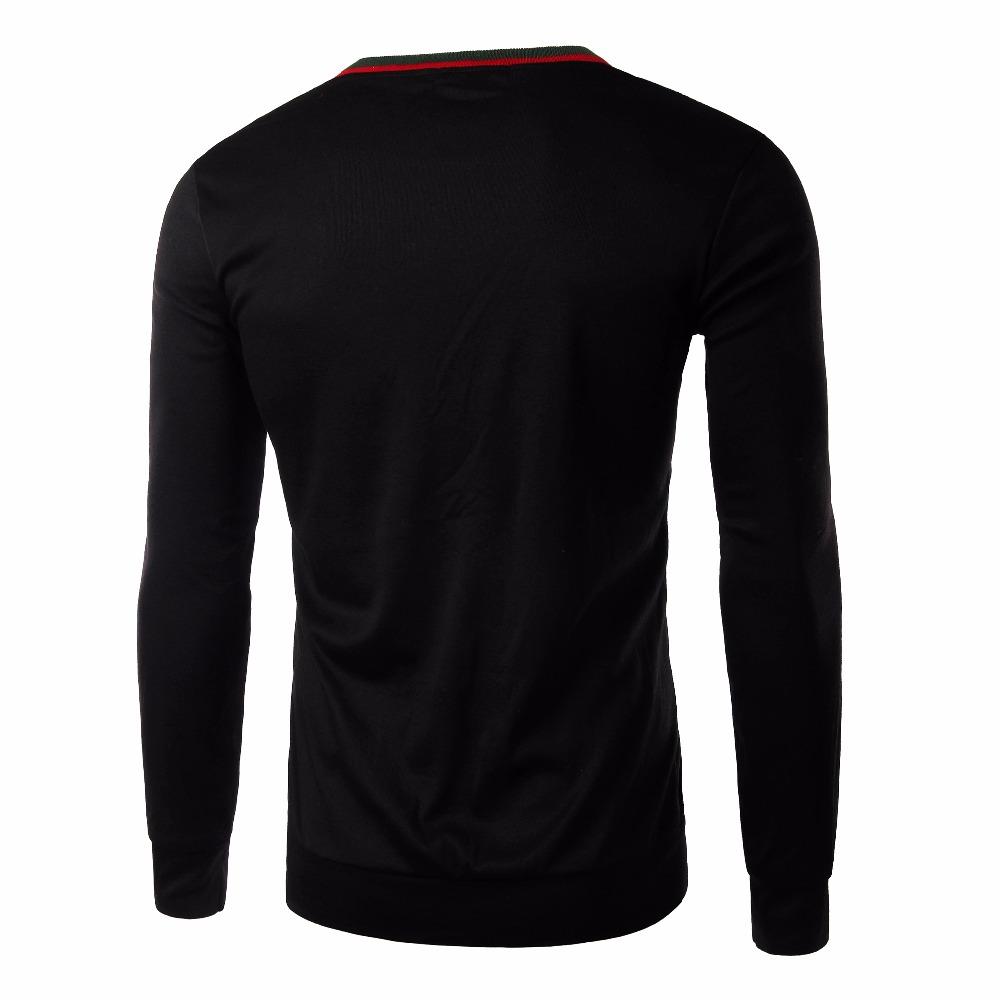 Especiais! 2015 inverno moda casual dos homens letras impressas blusas polo, Pullover outdoor sports atacado M ~ XXXL