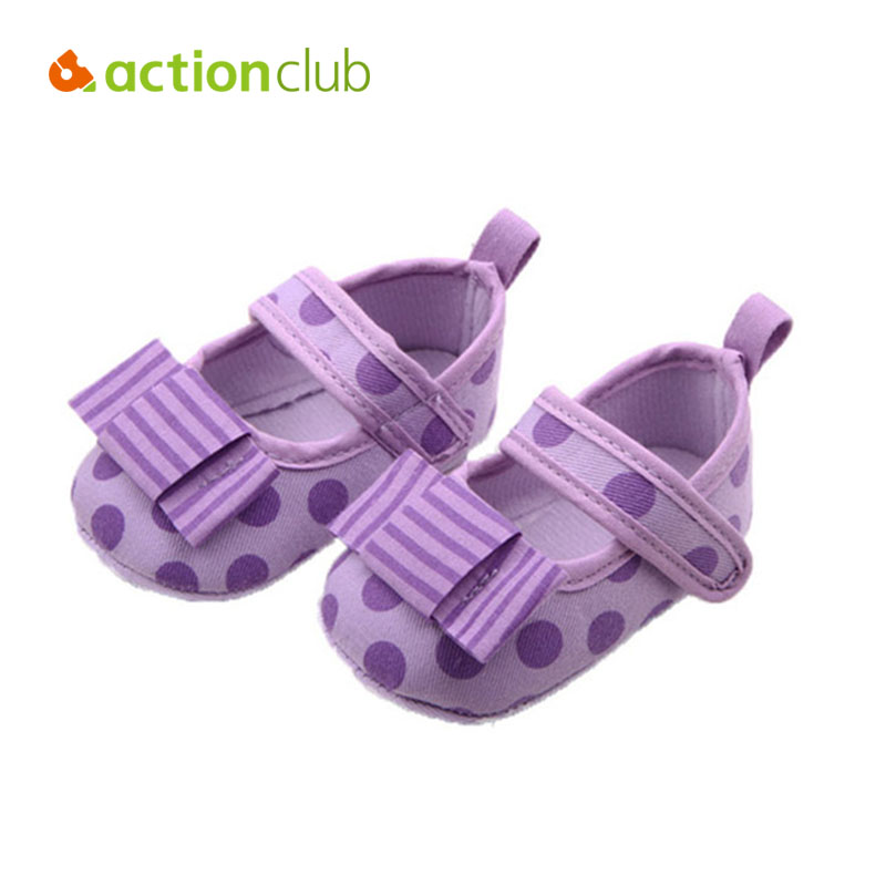 New Kawaii Baby Shoes Princess First Walkers Soft Sole Girls Shoes Dot Butterfly-knot Sneakers Newborn Infantil Baby Moccasins
