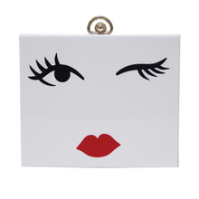 2016 new brand fashion Luxury handbags women bags designer Beauty square Handbag cartoon Shoulder Bag cute single party clutch