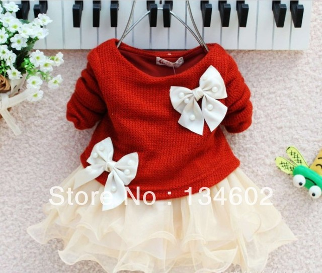 New arrival 2013 children clothing baby girls dresses for autumn -summer kids lace princess long-sleeved tutu dress for 6-24M