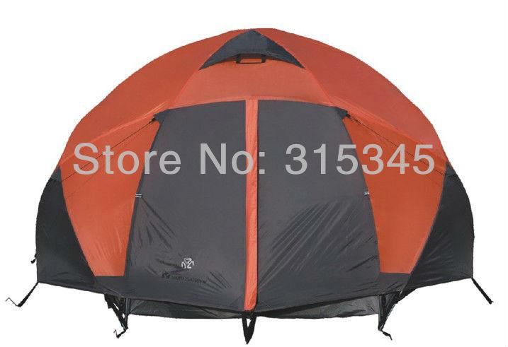 MOBIGARDEN 5-8 man 4 Season Aluminium Pole Rain Fly Camping Dome Tent 8.5kg(China (Mainland))