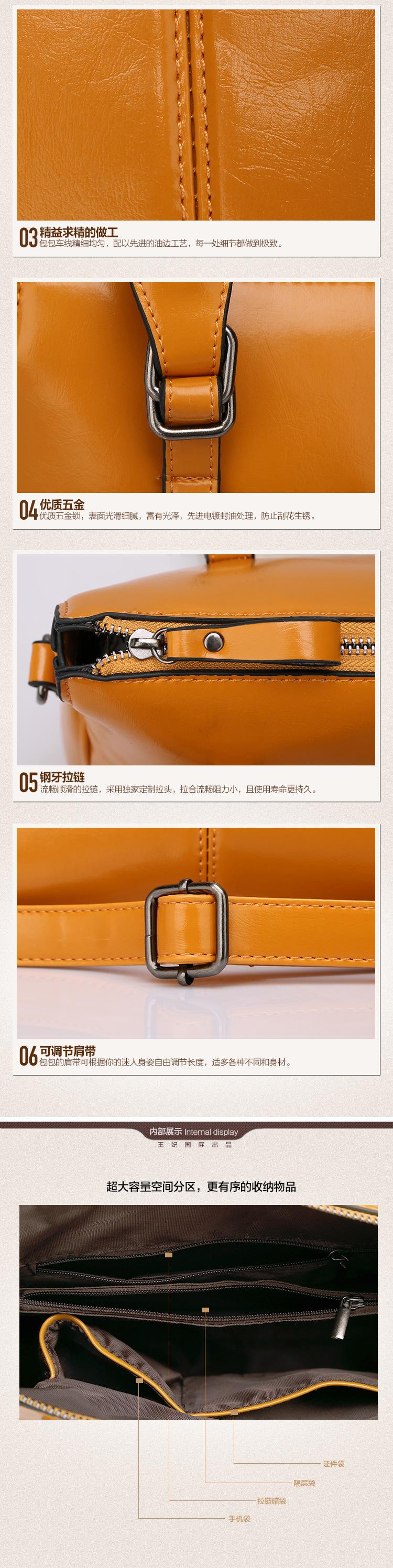 New 2015 Fashion Brand Leather Women Handbag Shoulder Bags Crocodile