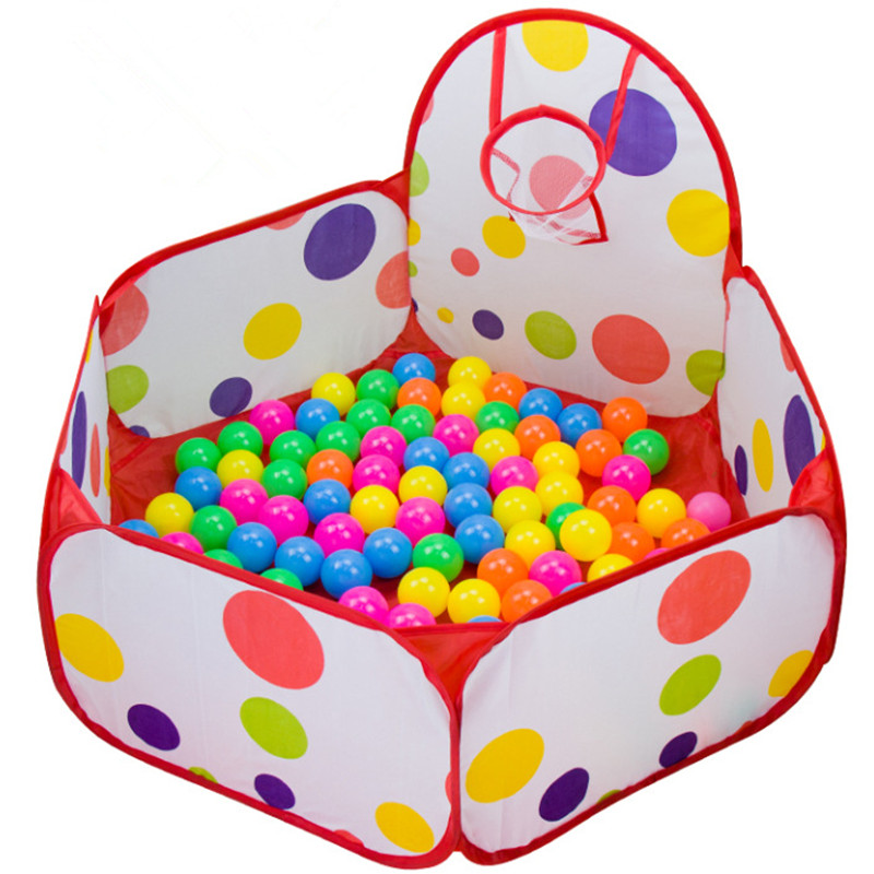 0.9 M 1.2 M 1.5 M Foldable Kids Children Ocean Ball Pit Pool Game Play Toy Tent Hut Outdoor Indoor(China (Mainland))