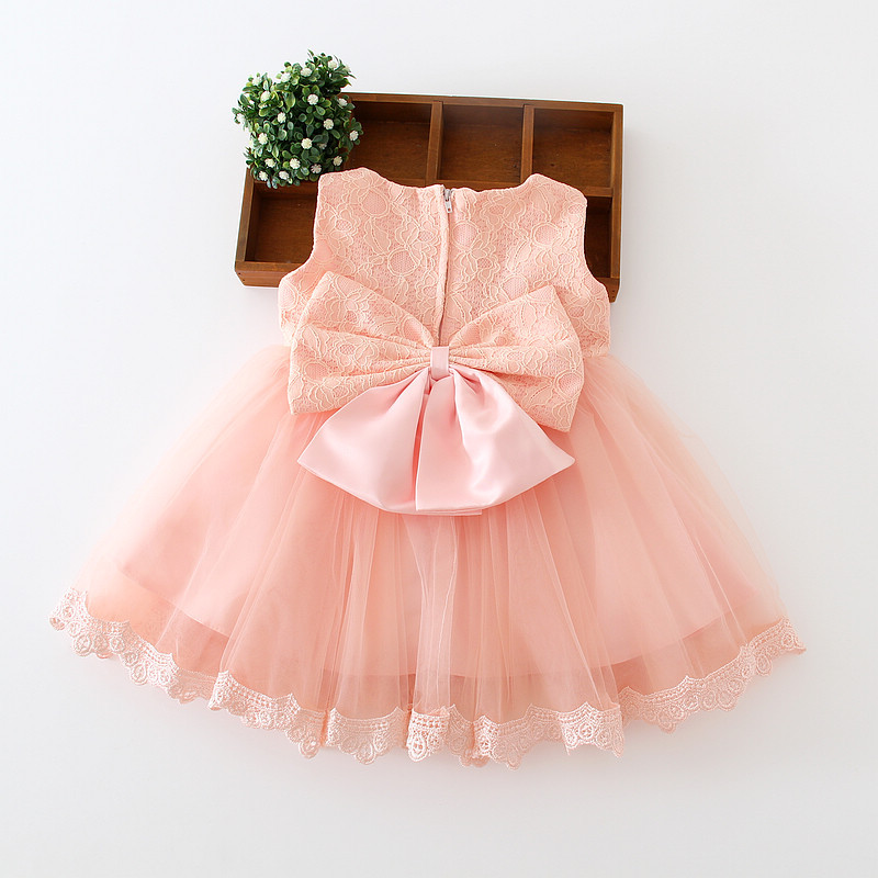 High Quality Baby Girl Dress Baptism Dress for Girl Infant 1 Year Birthday DressChirstening Dress Vestido Infantil Summer Dress <br><br>Aliexpress