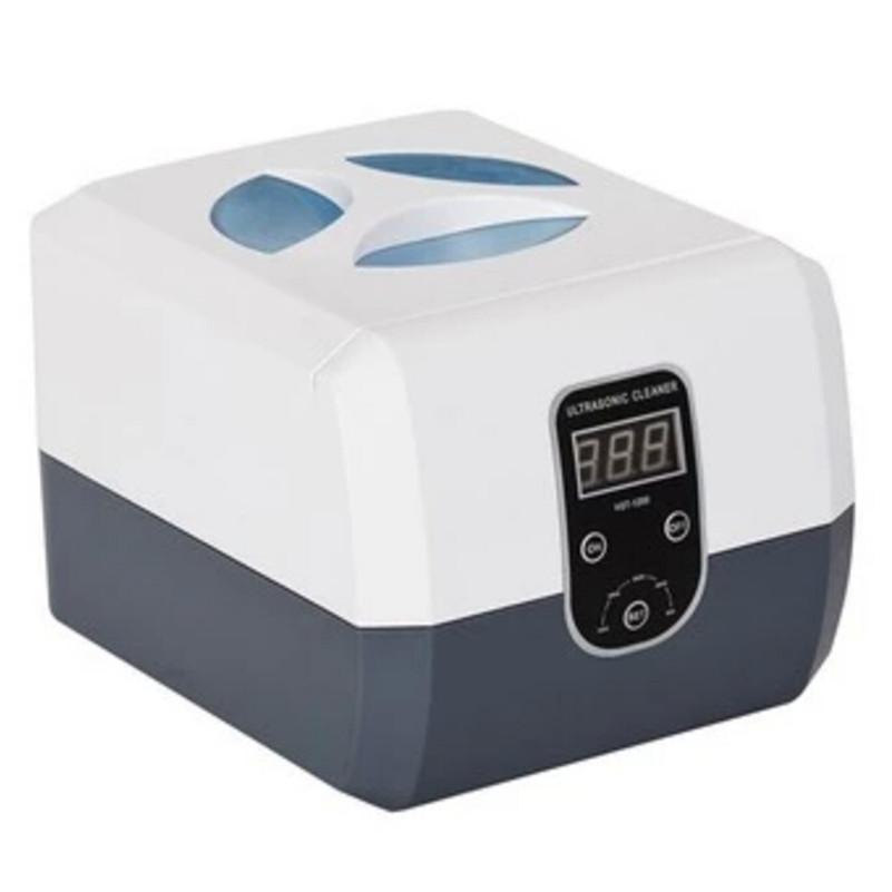 Фотография Tattoo  Sterilization Supply 1PCS 60W Mini Ultrasonic Dental Cleaner 1.3L For  Jewelry Watch Glasses Filter Injector Vgt-1200H