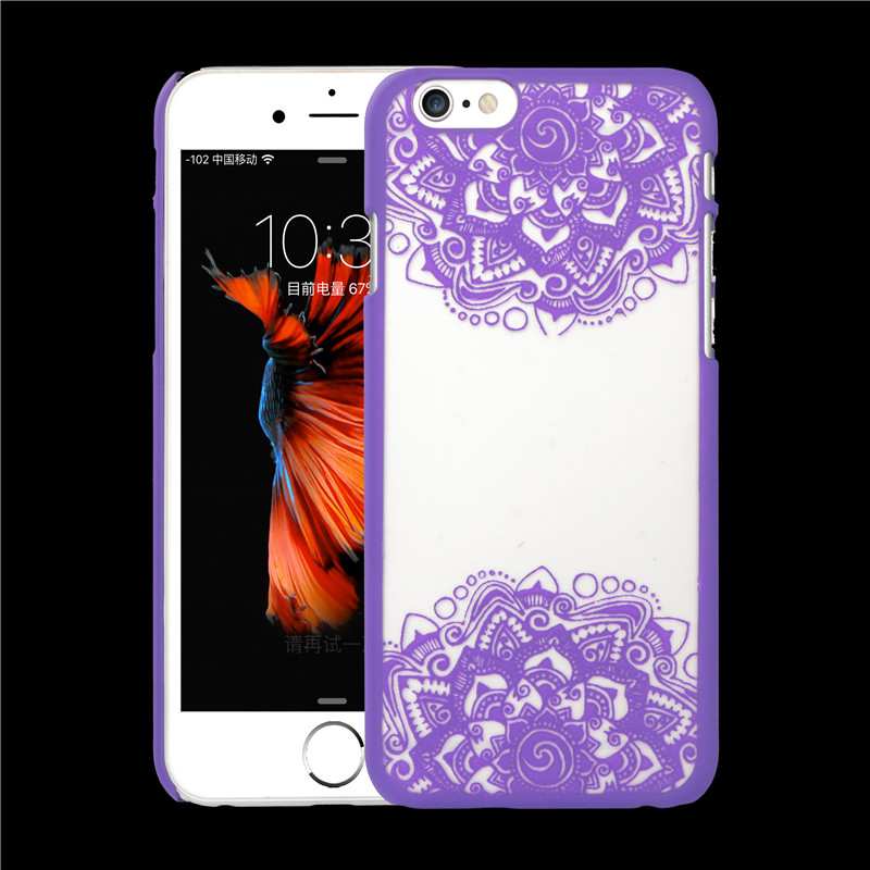 New Arrival Luxury Vintage Classic Chinese Style Flower Pattern for Apple iphone 6 6S Phone Cases 4.7 Inch Cell Phone Back Cover(China (Mainland))
