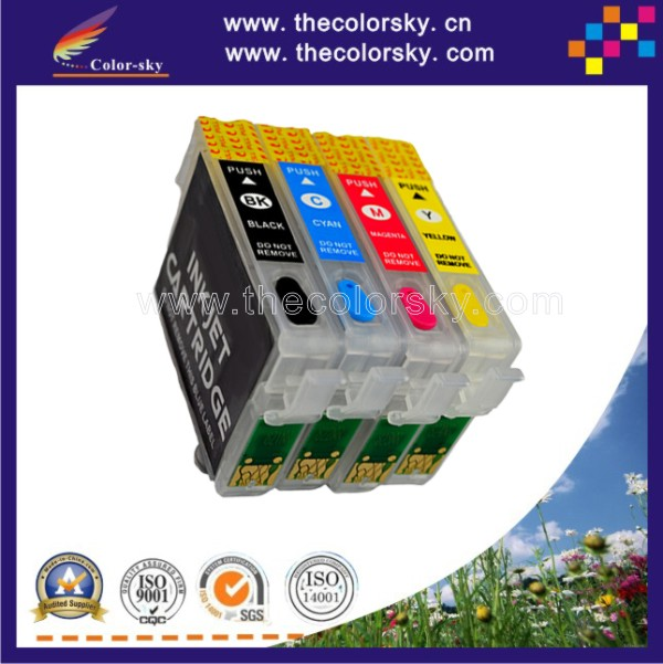(RCE1331) refill ink cartridge for Epson T1331-T1334 T133 T 133 Stylus N11/NX420/T12/T22/T25/TX120/TX129/TX420W (with ARC)