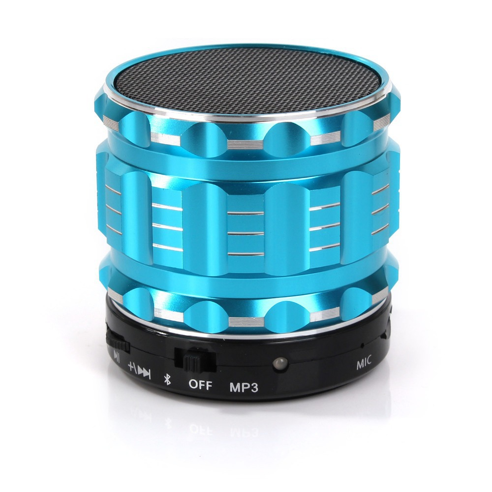 Portable Mini Bluetooth Speaker Super Bass Stereo Wireless Speakers Handsfree Loudspeaker With Mic +TF Card Slot For Laptop/PC(China (Mainland))