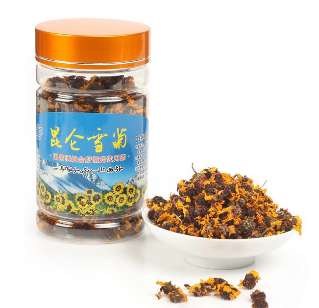 Top Organic Kunlun mountain snow daisy chrysanthemum tea and natural flower tea help for lowing blood pressure slimming beauty(China (Mainland))