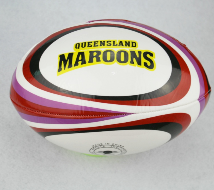 QUEENSLAND MAROONS Rugby Ball Standard Match Rugby Balls Size 9#(China (Mainland))