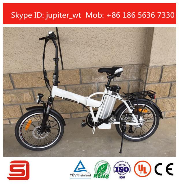 "20""  36V 10AH Lithium Battery Folding Electric Bike 6 Speed Gears LED display JSE-12-B(China (Mainland))"