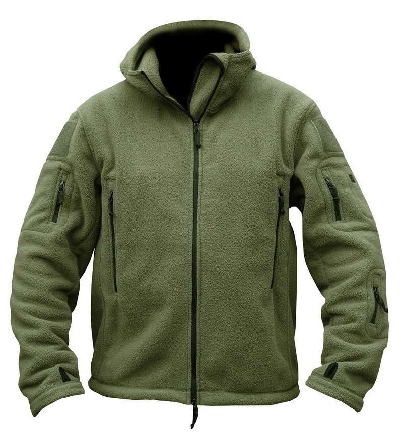 2016 Outdoor Sports Winter Military Fleece Warm Tactical Jacket Men Thermal Breathable Hooded men Jacket Coat Outerwear Army(China (Mainland))