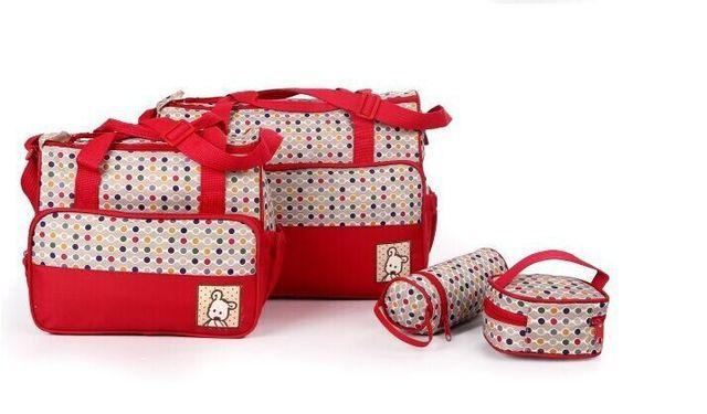 Бесплатная доставка 2016 мода мумия сумка для ребенка подгузников сумки 4 цвета 5 ...