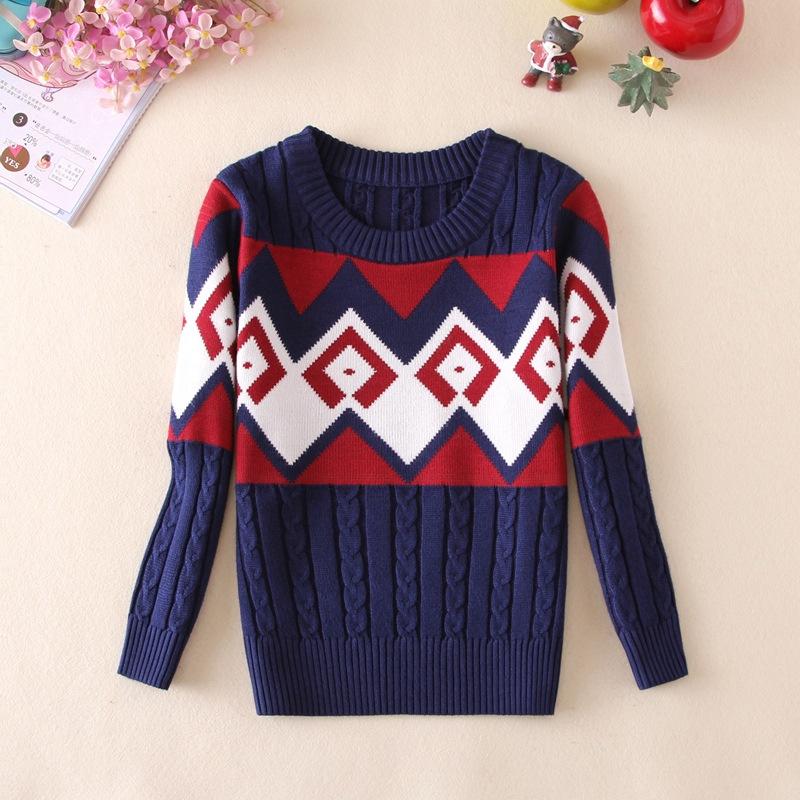 autumn / winter new children's Sweater clothing cotton sweater for boy winter children's clothing(China (Mainland))