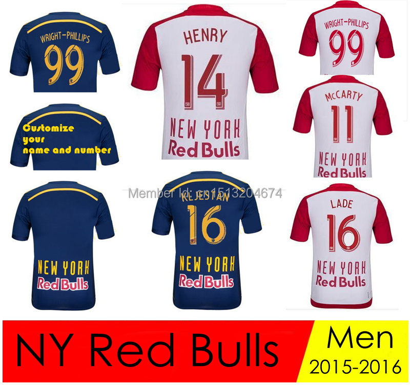 A Quality Thierry Henry New York Red Bulls Jersey 2015