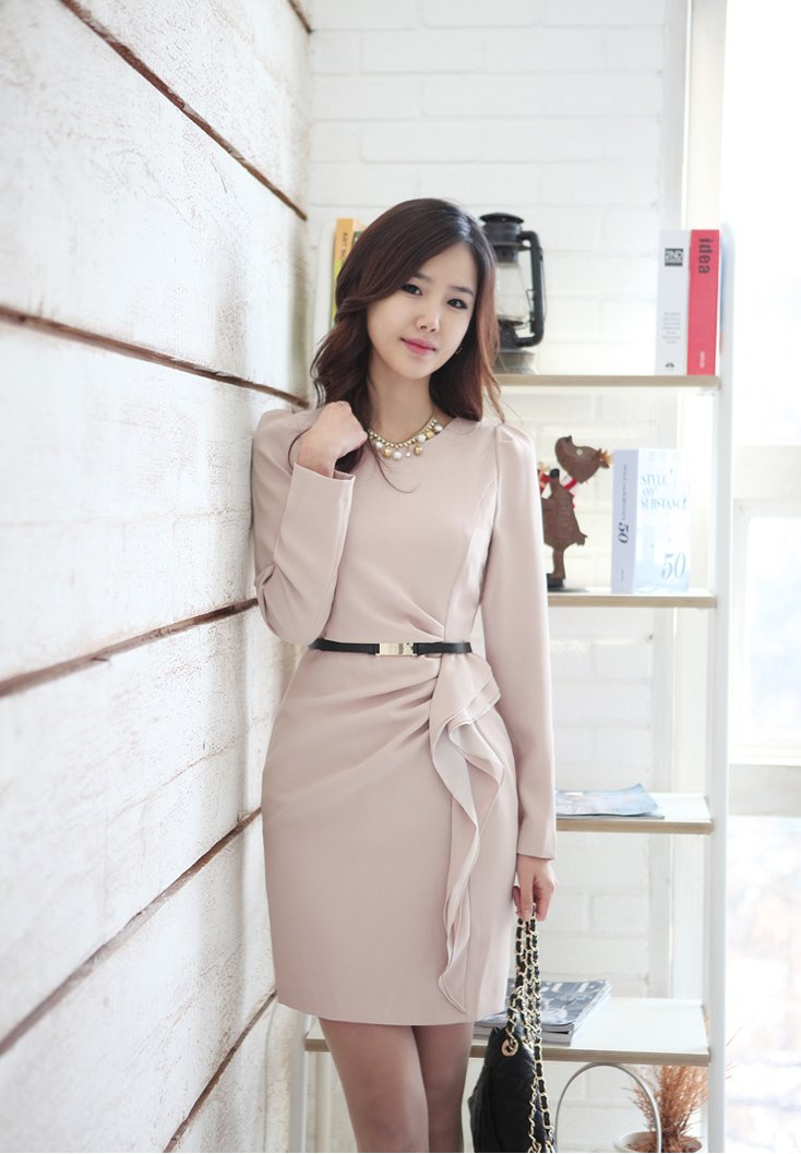 Cute casual long sleeve dresses