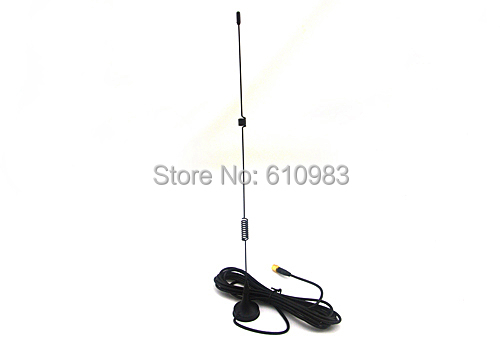 Free shipping huawei 3g 4g lte Aerial 4G 3.5dbi LTE Antenna 698-960/1700-2700Mhz with magnetic base RF SMA RG174 3M(China (Mainland))
