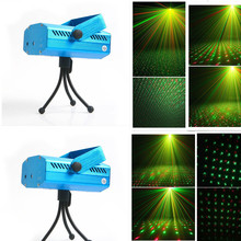 Hot sell Free Shipping Mini Projector R&G DJ Disco Light Stage Xmas Party Laser Lighting Show NH-1BLUE(China (Mainland))