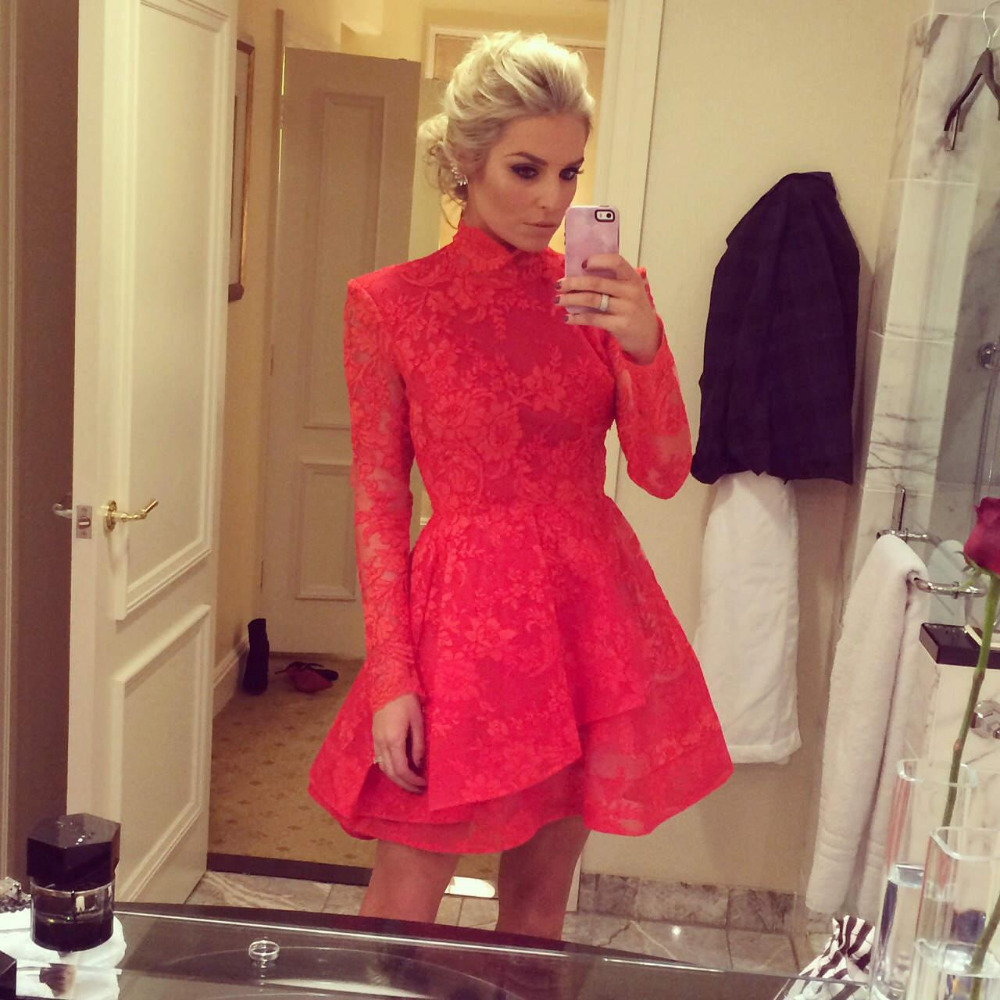 Beautiful Red Lace Dress Size 14 Gallery - Mikejaninesmith.us ...
