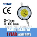 SHAHE 0 001mm Metric Precision Dial Indicator Dial Gauge 0 1 mm dial indicator 0 001