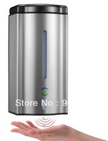 600ml stainless steel wall mounted IR infrared sensor automatic touchless liquid soap dispenser