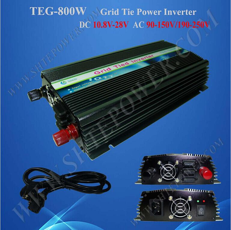 DC 12V/24V to AC 110V/120V/220V/230V/240V On Grid Tie Solar Power Inverter(China (Mainland))