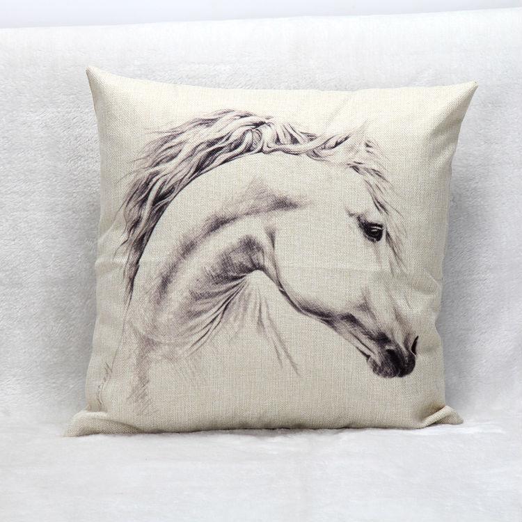 Aliexpress.com : Buy White Horse Custom Zippered 18