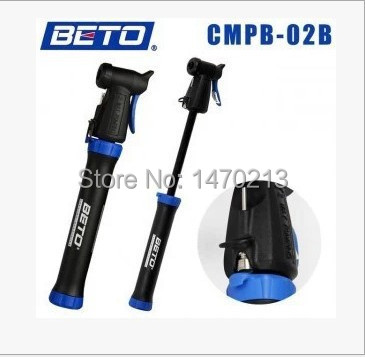 free shipping 128g cycling mountain bike portable mini pump Double stroke design for French and American gas mouth Bicycle Pump(China (Mainland))