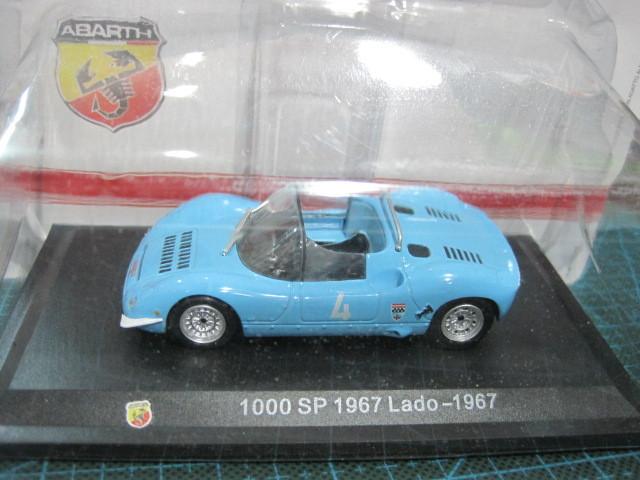 METRO 1/43 1000SP 1967 LADO-1967 alloy model cars new Yuan Bao(China (Mainland))
