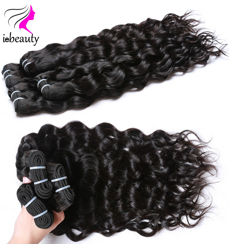 Brazilian Virgin Hair Water Wave 7a Brazilian Hair Weave Bundles Virgin Brazilian Water Wave Hair 3Pcs Lot Human Hair Extensions