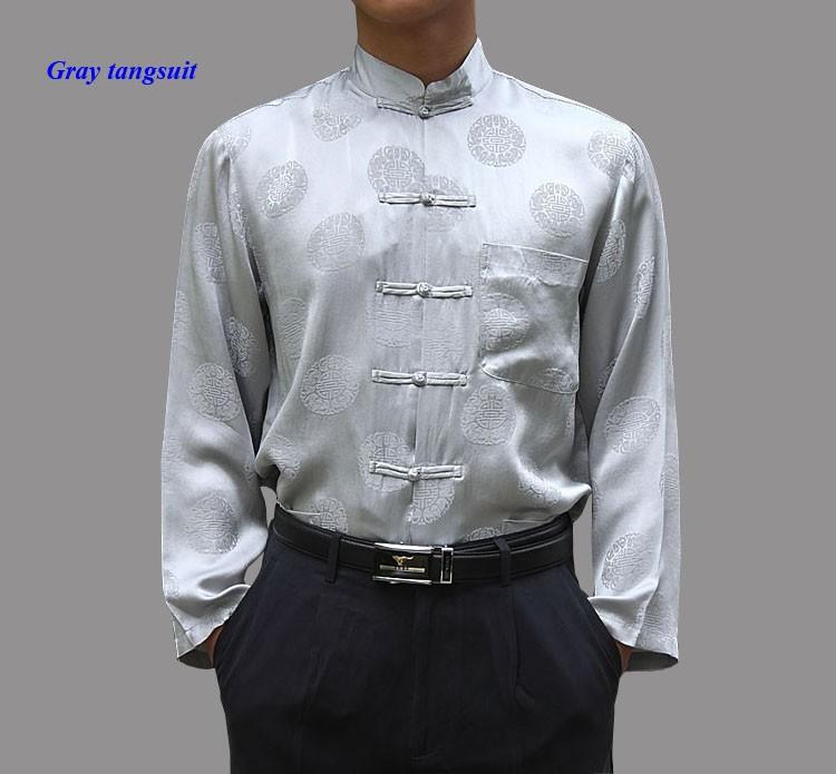 gray tangsuit