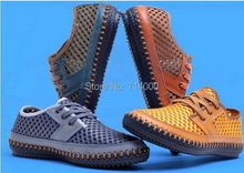 Free shipping, 2014 male net cloth shoes in summer Super light net shoes in summer Breathable mesh surface men leisure shoes