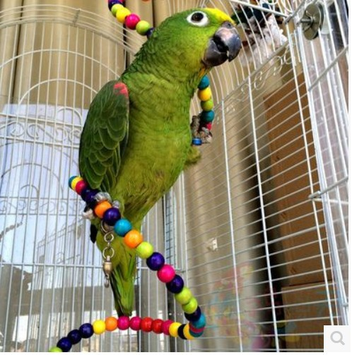 Colorful Parrot Rotating Ladder Parrot Standing Rope Pet Bird Parrot Cage Macaw Cockatoo Cockatiel Conure Rotating Staircase(China (Mainland))