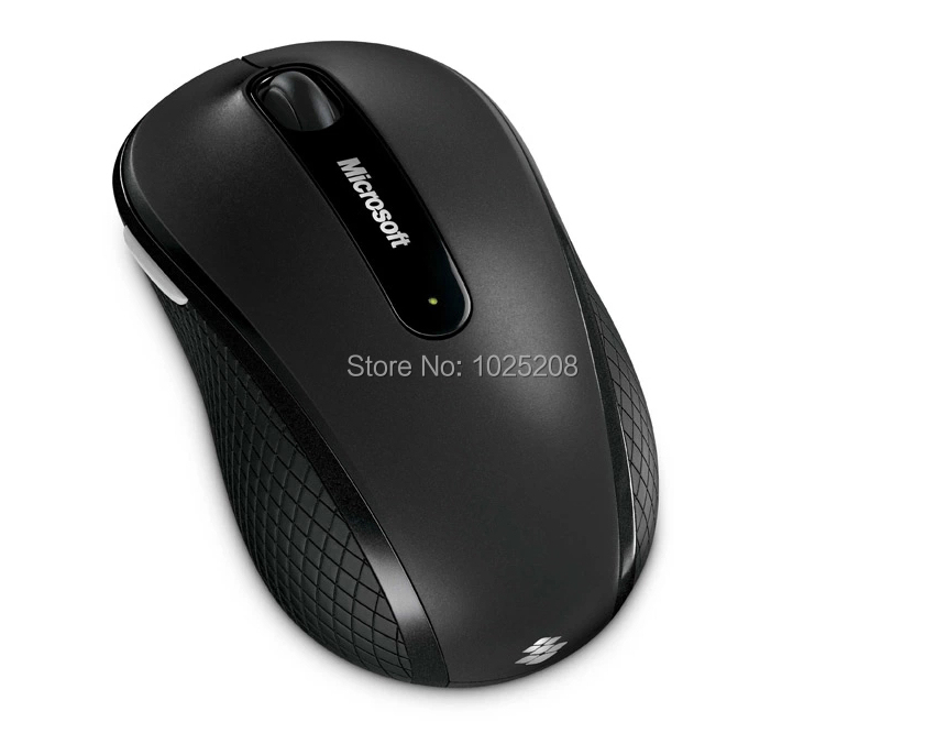 New Genuine 100% Microsoft 4000 2.4GHZ Wireless Mouse Blue Track MAC Free Shipping(China (Mainland))