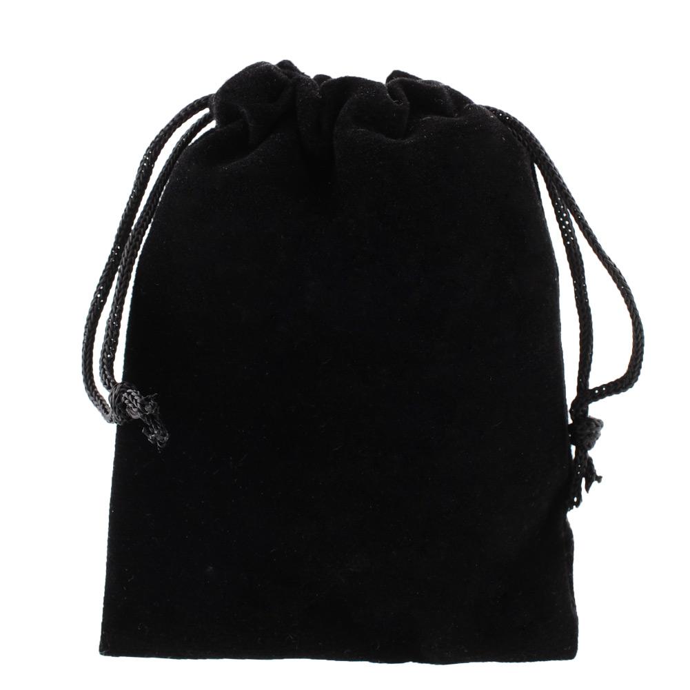 New Mini 1pc black Jewelry Bracelet 8x10cm Pouches Velvet Gift Bags Wedding Favors Drop Shipping Christmas(China (Mainland))