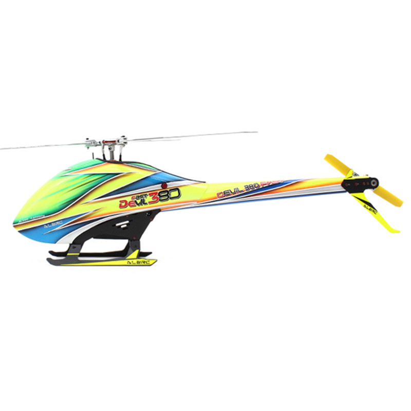 New Arrival ALZRC Devil 380 FAST Three Blade Rotor TBR Helicopter Super Combo For RC Toys Models(China (Mainland))