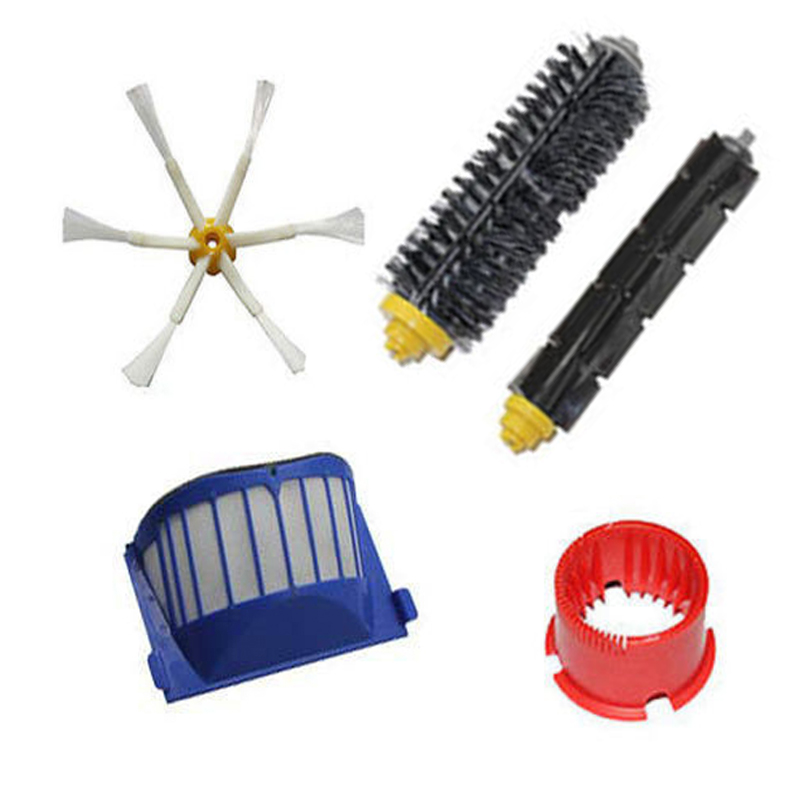 Brush 6-armed + Filters Clean tool for iRobot Roomba 600 Series 620 630 660 650(China (Mainland))
