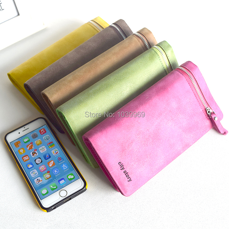 2015 Women Wallets new winter fashion trends pumping frosted multi card position two fold wallet lady