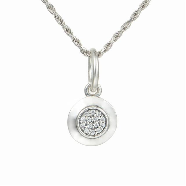 925 серебряные ювелирные изделия CZ камни подпись мотаться бусины для женщин DIY изготовления ювелирных изделий в форме пандора шарма и ожерелье