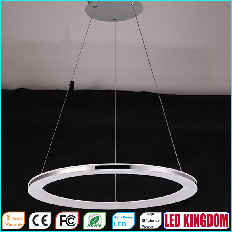 Modern LED Ceiling Hanging Pendant Lights Lamps Lighting Fixtures,AC110-240V LED Acrylic LED Lamps For Bedroom Hotel D:70cm<br><br>Aliexpress