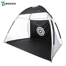 TOMSHOO 10' Golf Practice Hit Net Hitting Cage Training Tent with Carry Bag Indoor Garden Training Cage Golf Training Aids(China (Mainland))