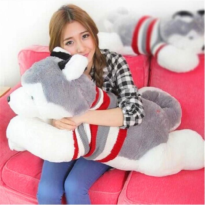 2014 NEW CHIC! Hot Sale Valentine's Day Gift Cute Plush Animal Dolls Creative Papa Dog Plush Toys for Children(China (Mainland))