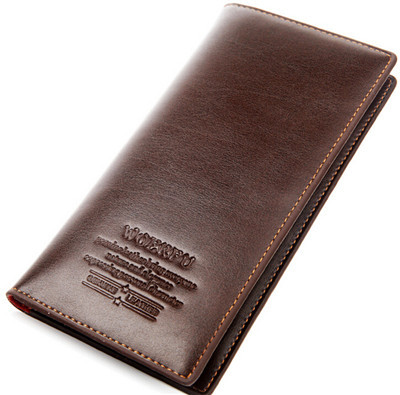 Mens Genuine Leather Wallet, Famous Brand Leather Purses, Casual Brown Men Wallets, Cowhide Leather Clutch Wallets carteira<br><br>Aliexpress