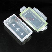 1PC 18650 Прозрачный корпус батареи Ясно держатель для хранения водонепроницаемый ящик Новый Бесплатная доставка